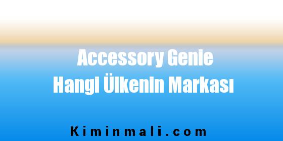 Accessory Genie Hangi Ülkenin Markası
