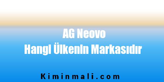 AG Neovo Hangi Ülkenin Markasıdır