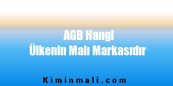 AGB Hangi Ülkenin Malı Markasıdır