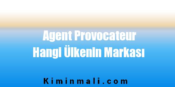 Agent Provocateur Hangi Ülkenin Markası