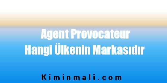 Agent Provocateur Hangi Ülkenin Markasıdır