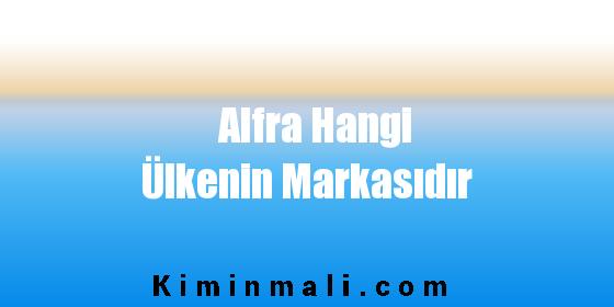 Alfra Hangi Ülkenin Markasıdır
