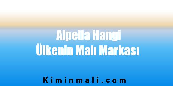 Alpella Hangi Ülkenin Malı Markası