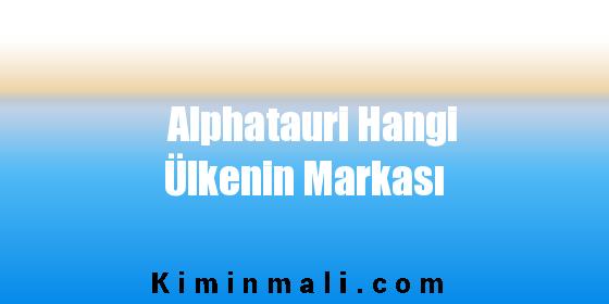 Alphatauri Hangi Ülkenin Markası