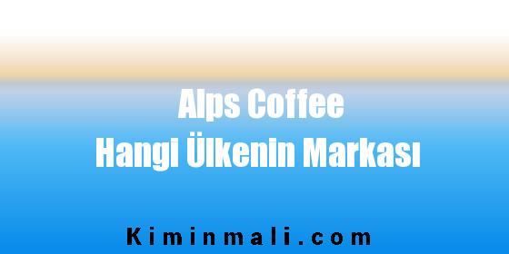 Alps Coffee Hangi Ülkenin Markası