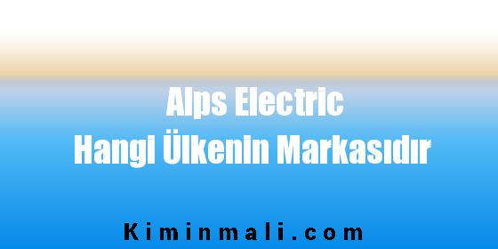 Alps Electric Hangi Ülkenin Markasıdır