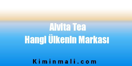 Alvita Tea Hangi Ülkenin Markası