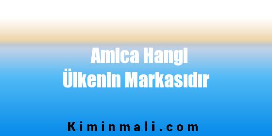 Amica Hangi Ülkenin Markasıdır