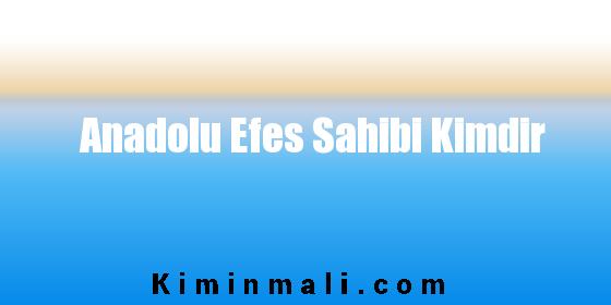 Anadolu Efes Sahibi Kimdir