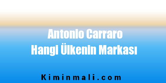 Antonio Carraro Hangi Ülkenin Markası