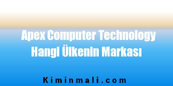 Apex Computer Technology Hangi Ülkenin Markası