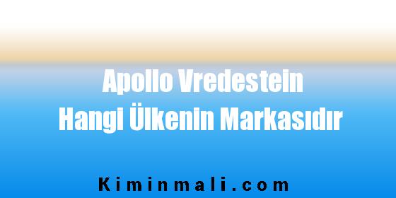 Apollo Vredestein Hangi Ülkenin Markasıdır