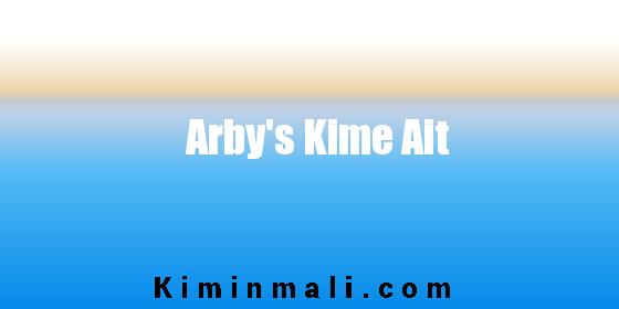 Arby's Kime Ait