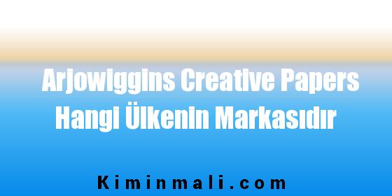 Arjowiggins Creative Papers Hangi Ülkenin Markasıdır