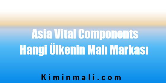 Asia Vital Components Hangi Ülkenin Malı Markası