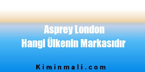 Asprey London Hangi Ülkenin Markasıdır