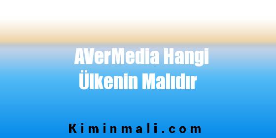 AVerMedia Hangi Ülkenin Malıdır
