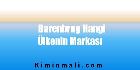 Barenbrug Hangi Ülkenin Markası