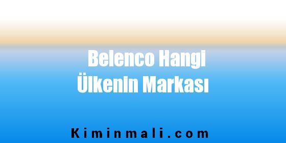Belenco Hangi Ülkenin Markası