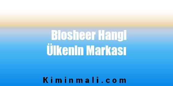 Biosheer Hangi Ülkenin Markası