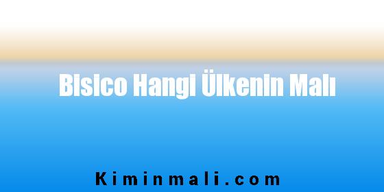 Bisico Hangi Ülkenin Malı