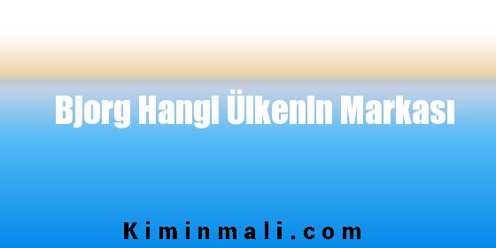 Bjorg Hangi Ülkenin Markası