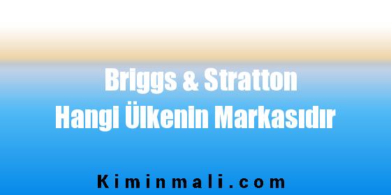 Briggs & Stratton Hangi Ülkenin Markasıdır
