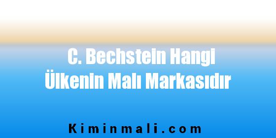 C. Bechstein Hangi Ülkenin Malı Markasıdır