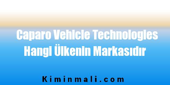 Caparo Vehicle Technologies Hangi Ülkenin Markasıdır