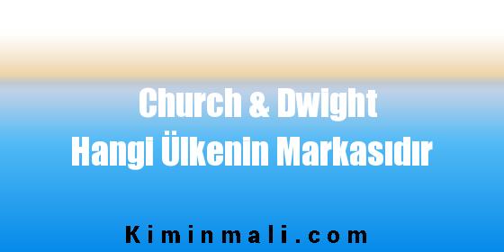 Church & Dwight Hangi Ülkenin Markasıdır Church & Dwight Hangi Ülkeye Ait