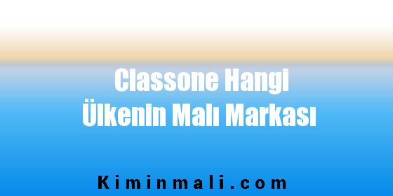 Classone Hangi Ülkenin Malı Markası