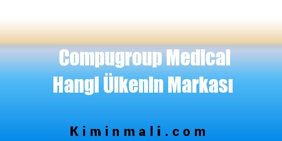 Compugroup Medical Hangi Ülkenin Markası