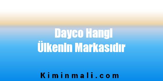 Dayco Hangi Ülkenin Markasıdır
