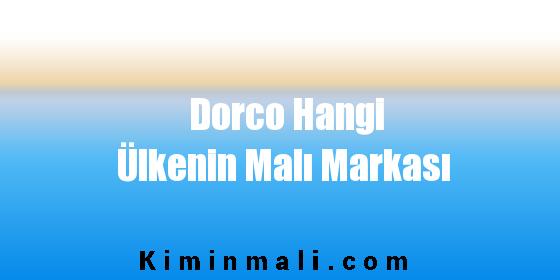 Dorco Hangi Ülkenin Malı Markası