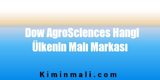 Dow AgroSciences Hangi Ülkenin Malı Markası