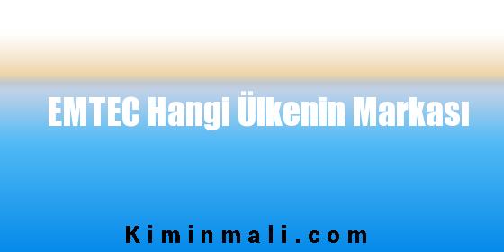 EMTEC Hangi Ülkenin Markası