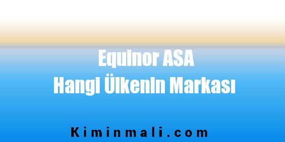 Equinor ASA Hangi Ülkenin Markası