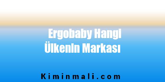Ergobaby Hangi Ülkenin Markası