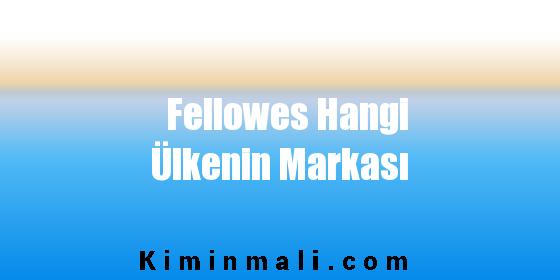 Fellowes Hangi Ülkenin Markası
