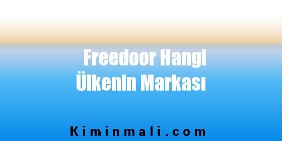 Freedoor Hangi Ülkenin Markası