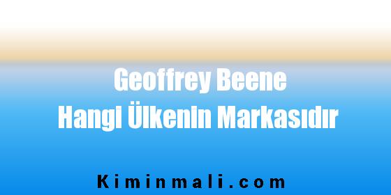 Geoffrey Beene Hangi Ülkenin Markasıdır