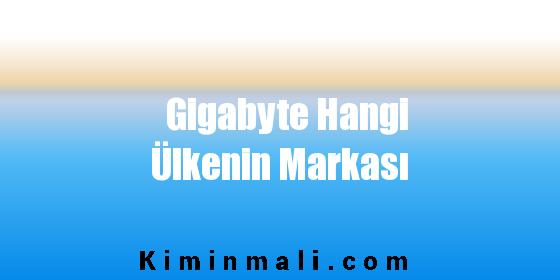 Gigabyte Hangi Ülkenin Markası