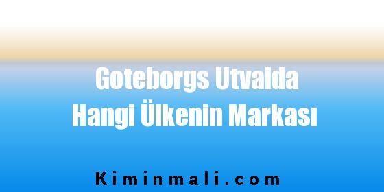 Goteborgs Utvalda Hangi Ülkenin Markası