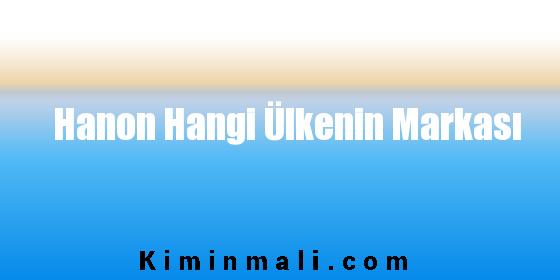 Hanon Hangi Ülkenin Markası