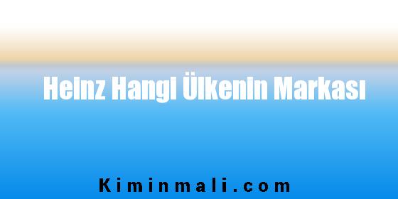 Heinz Hangi Ülkenin Markası