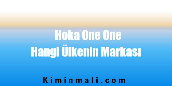 Hoka One One Hangi Ülkenin Markası