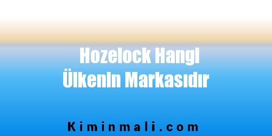 Hozelock Hangi Ülkenin Markasıdır