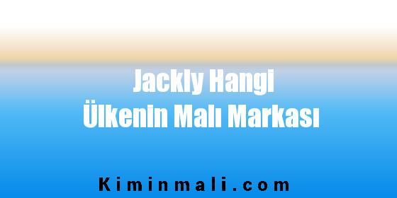 Jackly Hangi Ülkenin Malı Markası
