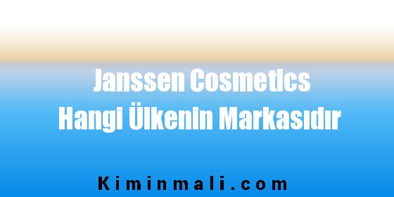 Janssen Cosmetics Hangi Ülkenin Markasıdır