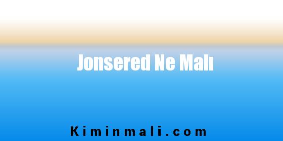 Jonsered Ne Malı